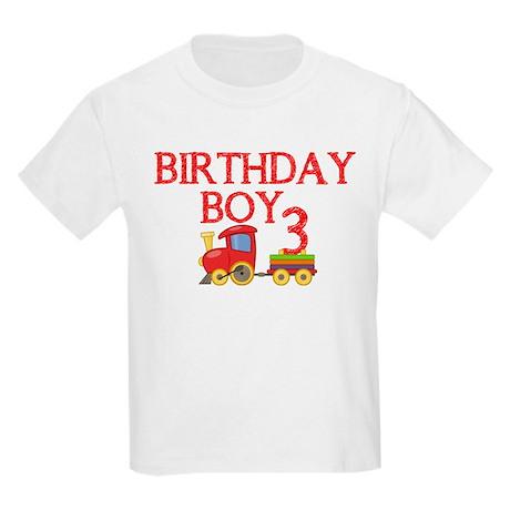 Boys 3rd Birthday T-Shirt by onestopgiftshop2