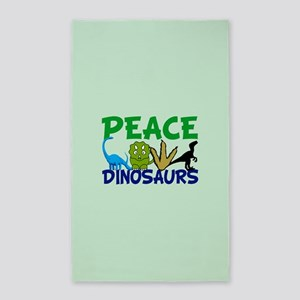 Dinosaur Love Area Rug