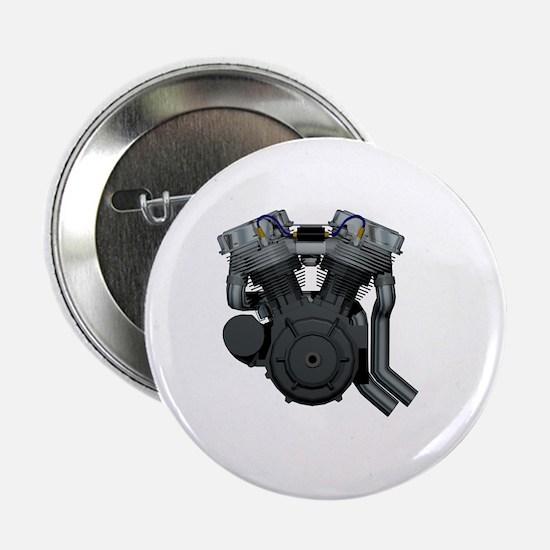 """Panhead DarkSide 2.25"""" Button"""