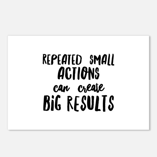 Big Results Postcards (Package of 8)