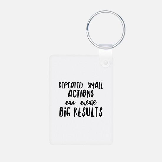 Big Results Keychains