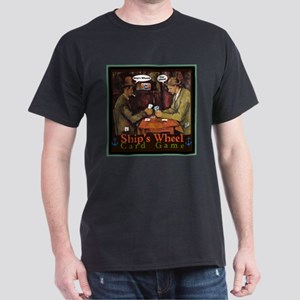 Ships Wheel Card Game T-Shirt