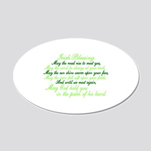 Irish Blessing Wall Decal