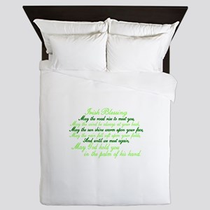 Irish Blessing Queen Duvet