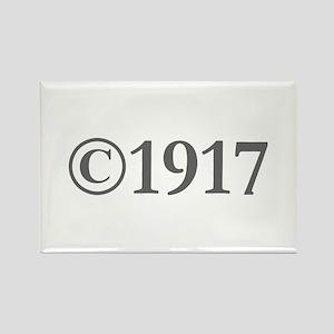 Copyright 1917-Gar gray Magnets