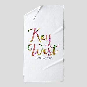 Key West - Beach Towel