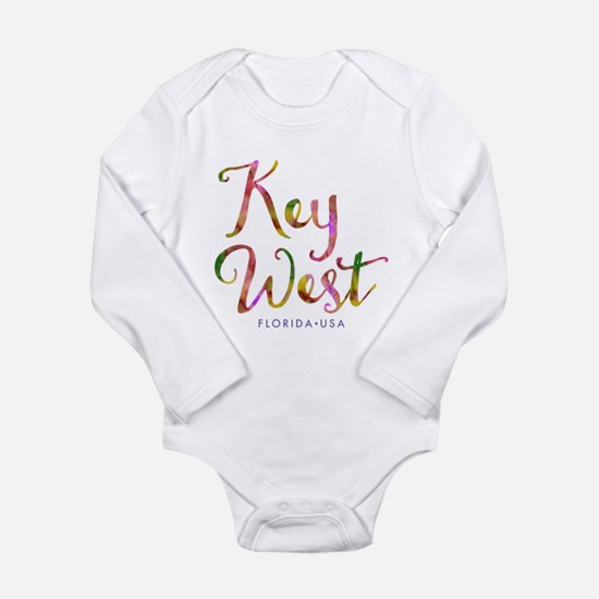 Key West - Long Sleeve Infant Bodysuit