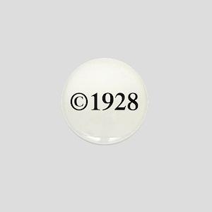 Copyright 1928-Tim black Mini Button