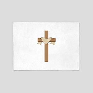 Cross 5'x7'Area Rug