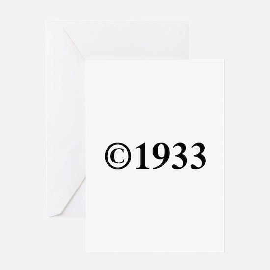 Copyright 1933-Tim black Greeting Cards