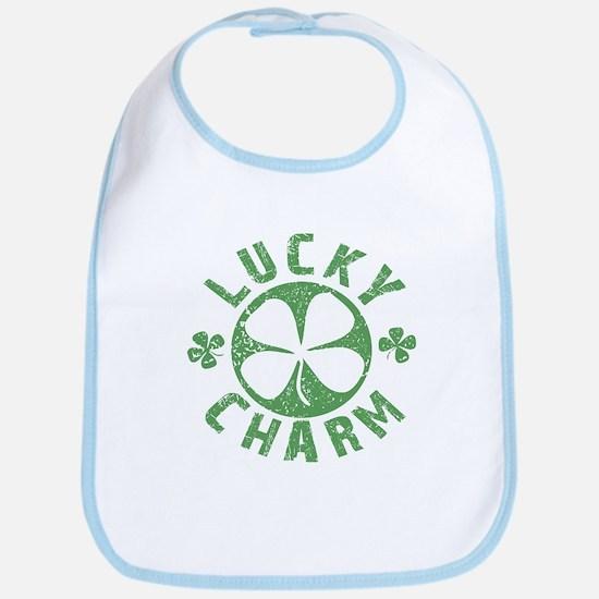 Lucky Charm 4 Leaf Clover Bib