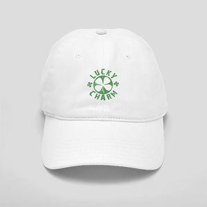 Lucky Charm 4 Leaf Clover Cap
