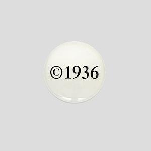 Copyright 1936-Tim black Mini Button