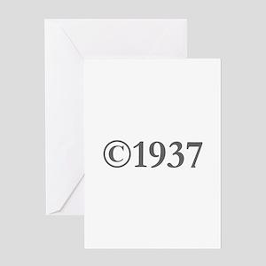 Copyright 1937-Gar gray Greeting Cards