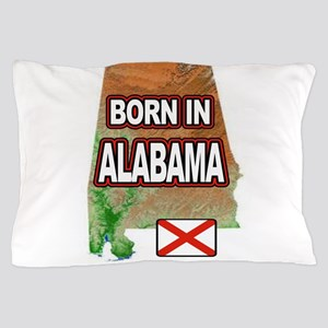 ALABAMA BORN Pillow Case