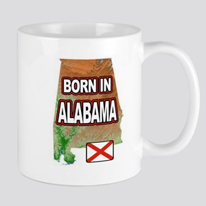 ALABAMA BORN Mugs