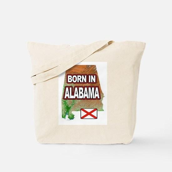 ALABAMA BORN Tote Bag