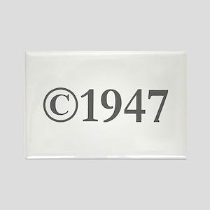 Copyright 1947-Gar gray Magnets