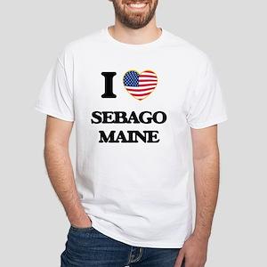 I love Sebago Maine T-Shirt