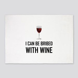Bribed With Wine 5'x7'Area Rug