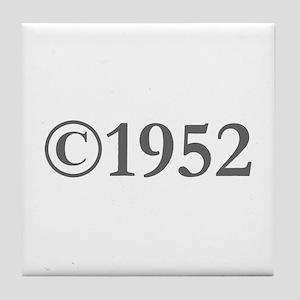Copyright 1952-Gar gray Tile Coaster