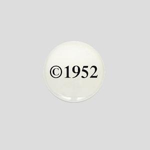 Copyright 1952-Tim black Mini Button