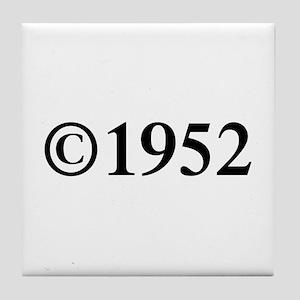 Copyright 1952-Tim black Tile Coaster