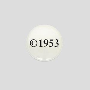 Copyright 1953-Tim black Mini Button