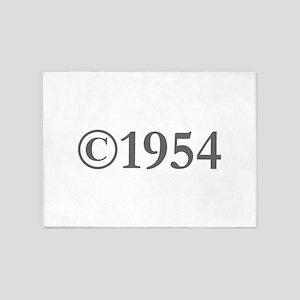 Copyright 1954-Gar gray 5'x7'Area Rug