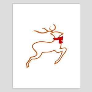Reindeer Outline Posters