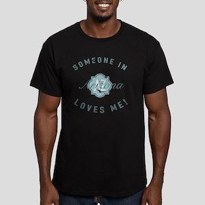 Someone In Arizona Men's Fitted T-Shirt (dark)