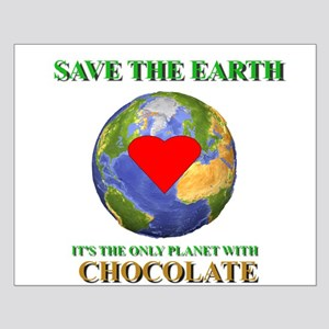 Earth Chocolate Small Poster