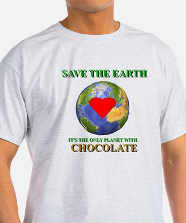 Earth Chocolate T-Shirt