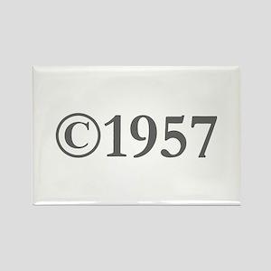 Copyright 1957-Gar gray Magnets