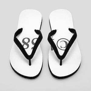 Copyright 1958-Gar gray Flip Flops