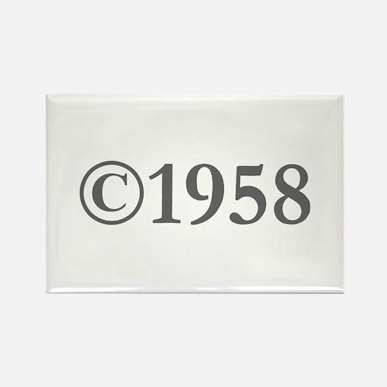Copyright 1958-Gar gray Magnets