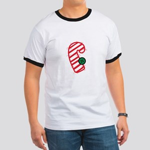 Appliqué Candy Cane T-Shirt