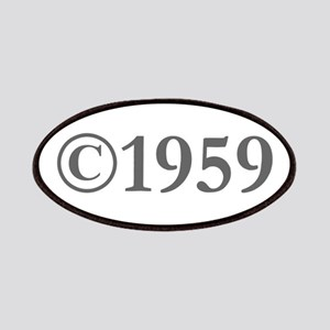 Copyright 1959-Gar gray Patch