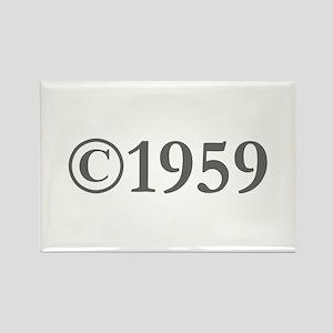 Copyright 1959-Gar gray Magnets