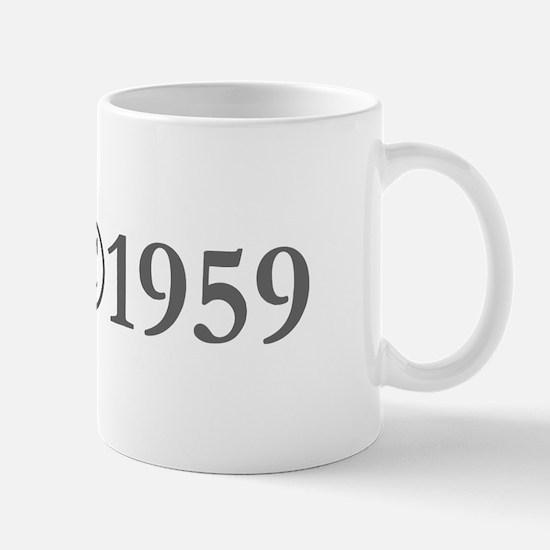 Copyright 1959-Gar gray Mugs