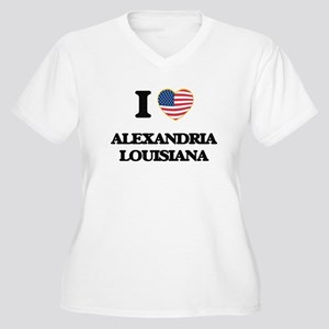 I love Alexandria Louisiana Plus Size T-Shirt