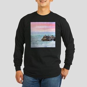 Seagulls at Sunrise Long Sleeve T-Shirt