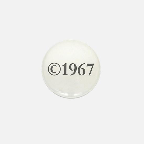 Copyright 1967-Gar gray Mini Button