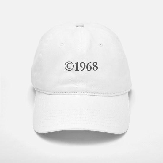Copyright 1968-Gar gray Baseball Baseball Baseball Cap