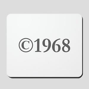 Copyright 1968-Gar gray Mousepad