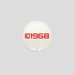 Copyright 1968-Sav red Mini Button