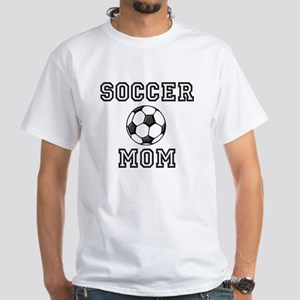 Soccer Mom White T-Shirt