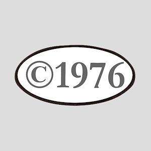Copyright 1976-Gar gray Patch