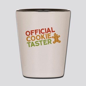 Official Cookie Taster Shot Glass