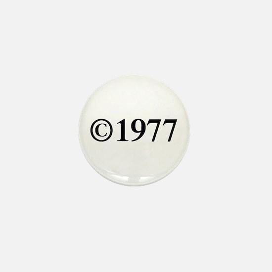 Copyright 1977-Tim black Mini Button